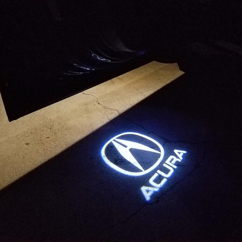 Acura LED Door Projectors.