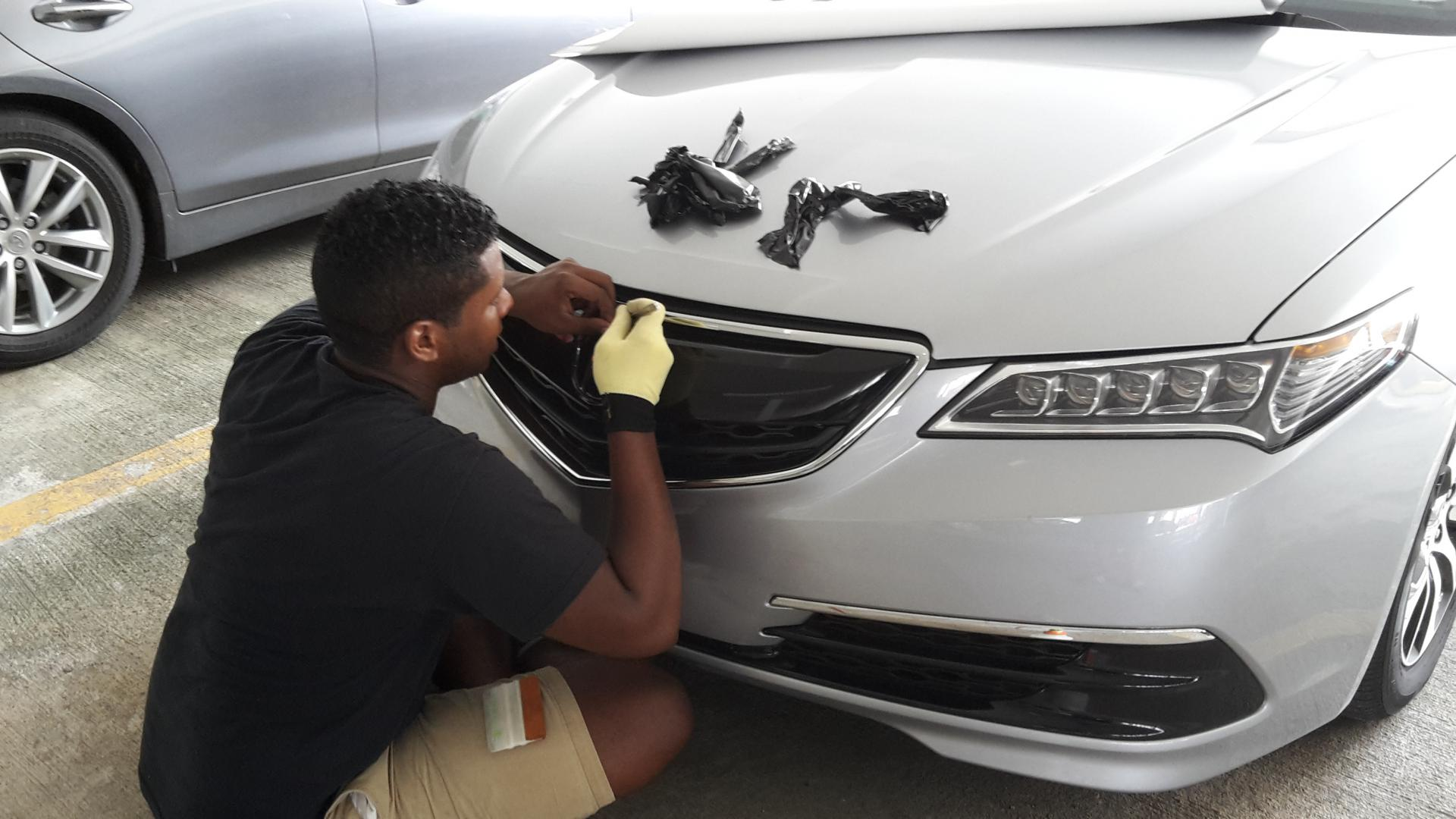 Acura Tlx Forum >> Wrapping the grill - Page 4 - Acura TLX Forum