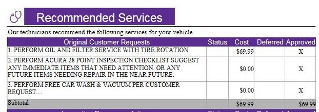 St B ServiceWOW Acura TLX Forum - Acura mdx b16 service cost