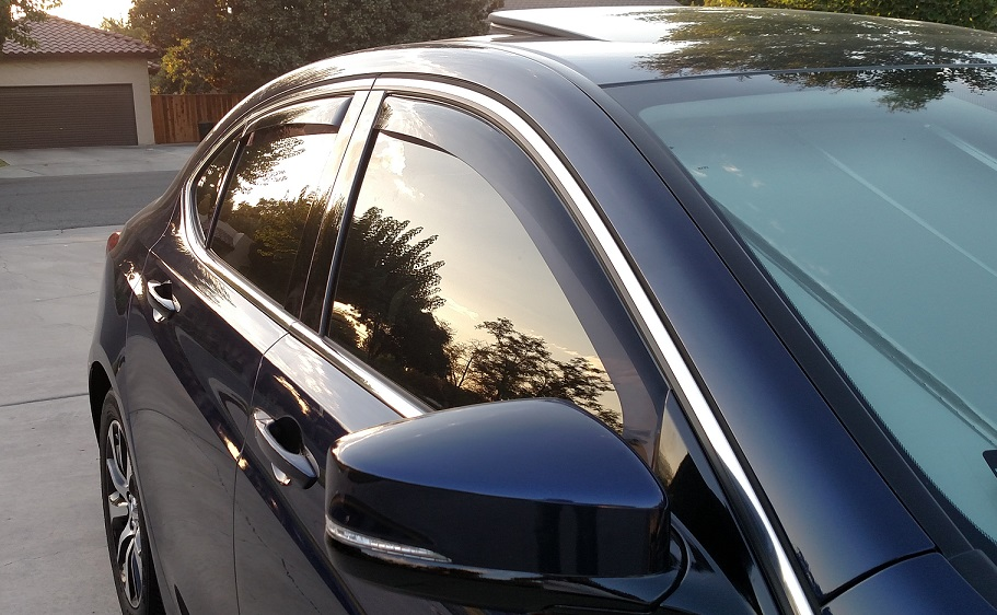 Weathertech Side Window Deflectors Are Out Acura TLX Forum - Acura ilx window visors