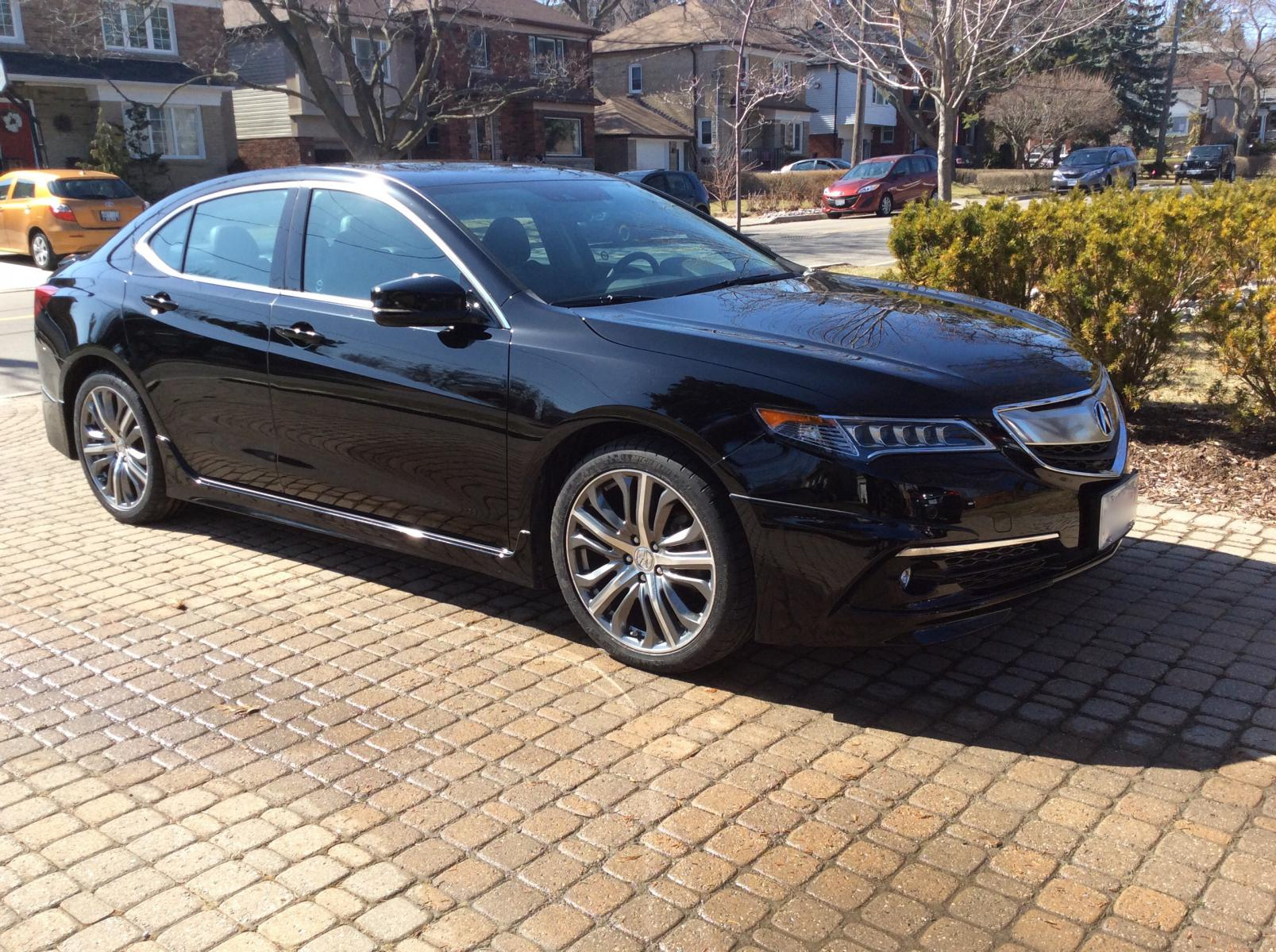 Crystal Black Pearl picture thread   Acura TLX Forum