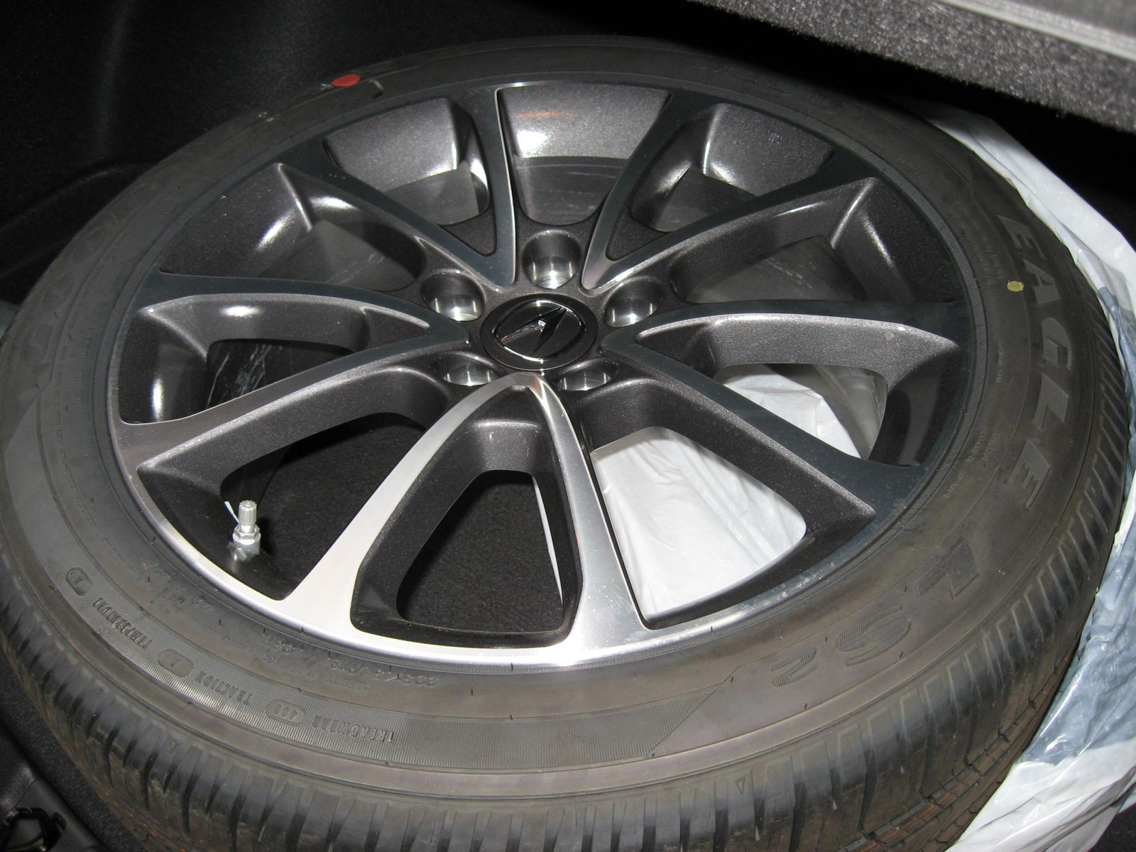 Selling My Acura TLX Rims And Tires New England Acura TLX Forum - Acura tires