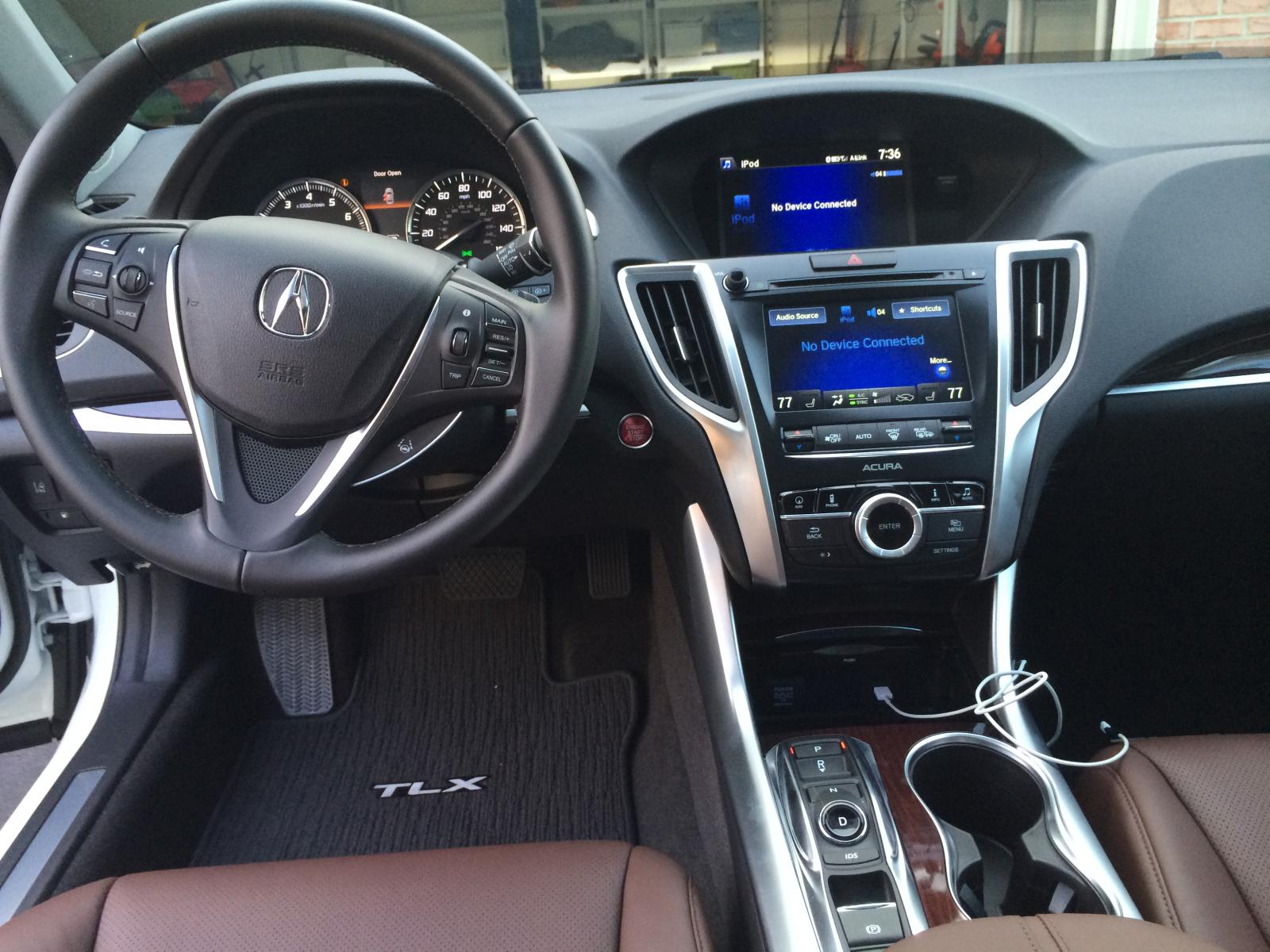 First Look At Tlx Espresso Interior Page 2 Acura Tlx