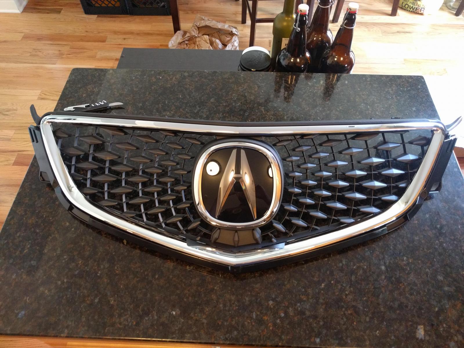 Acura Rdx Grill Custom