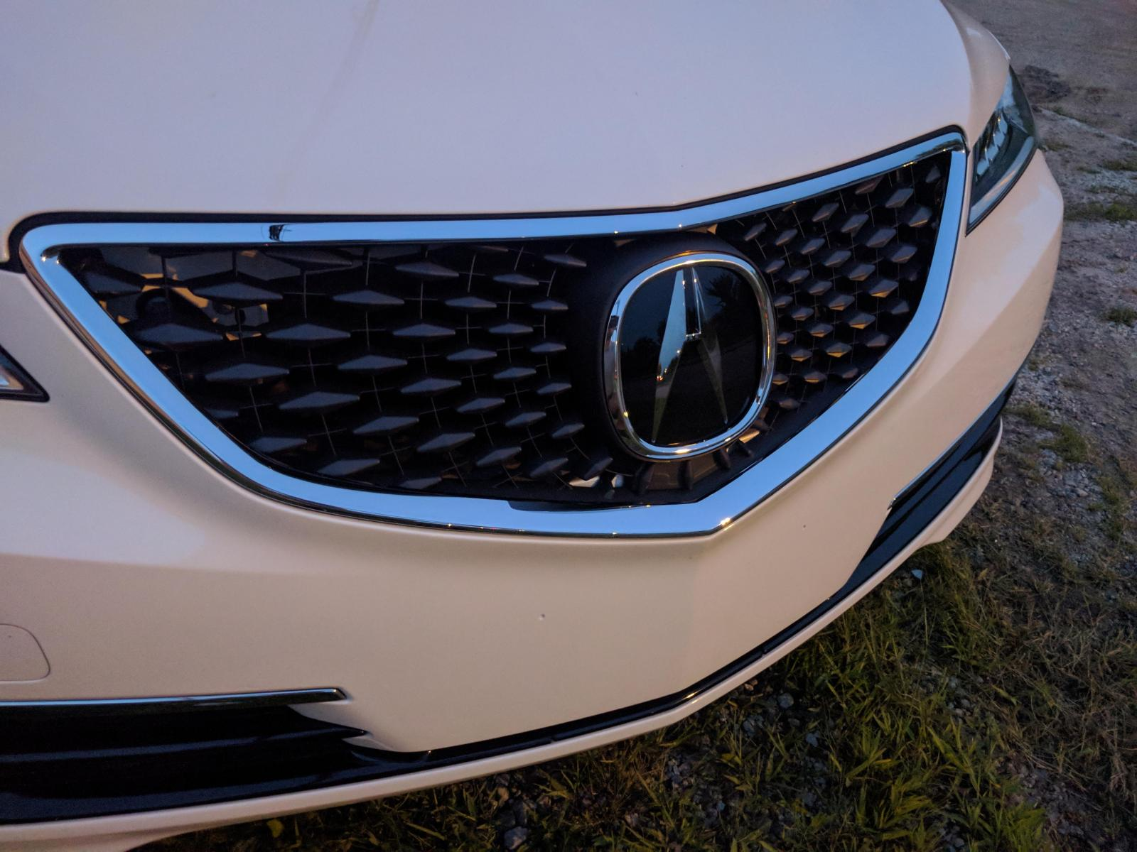 Finally Deleted The Beak Acura Tlx Forum