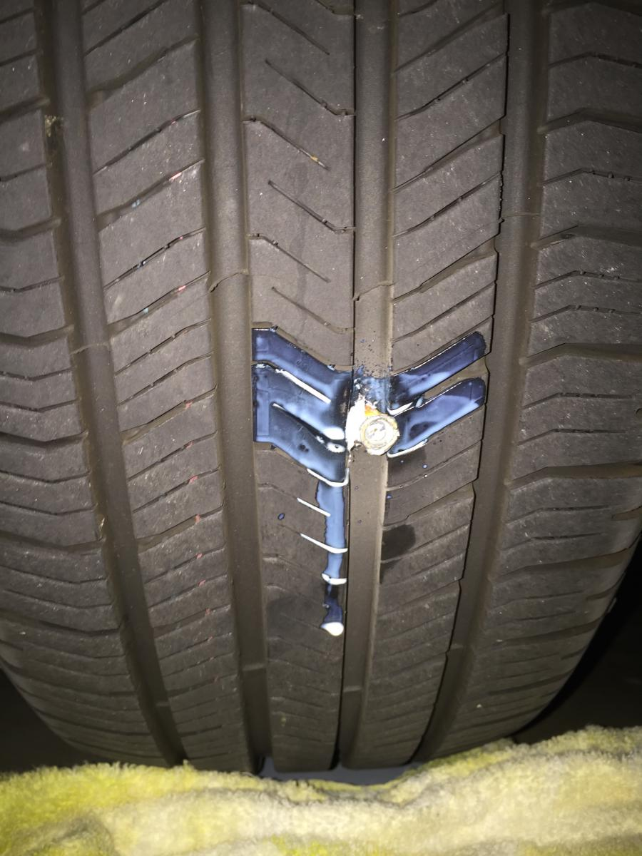 Real Spare Tire Page Acura TLX Forum - Acura tires