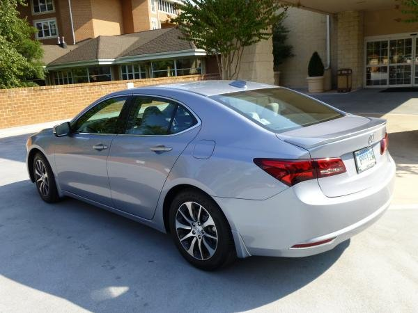 Showcase cover image for Slate Silver TLX