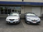My 2004 TSX traded for 2015 TLX