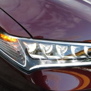 Front LED Headlights