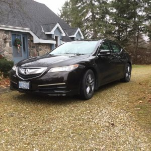 2017 Acura TLX Tech Black Copper Pearl